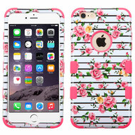 Military Grade Certified TUFF Image Hybrid Case for iPhone 6 Plus / 6S Plus - Fresh Roses
