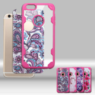 Challenger FreeStyle Hybrid Case with Designer Inserts for iPhone 6 Plus / 6S Plus - Flower