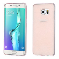 Sparkling Frost Candy Skin Cover for Samsung Galaxy S6 Edge Plus - Rose Gold