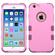 Military Grade Certified TUFF Hybrid Case for iPhone 6 / 6S - Soft Pink Rose