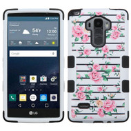 Military Grade Certified TUFF Image Hybrid Case for LG G Stylo / Vista 2 - Fresh Roses 229
