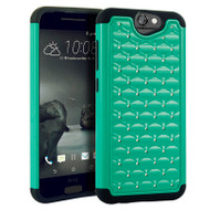 *Sale* TotalDefense Diamond Hybrid Case for HTC One A9 - Green