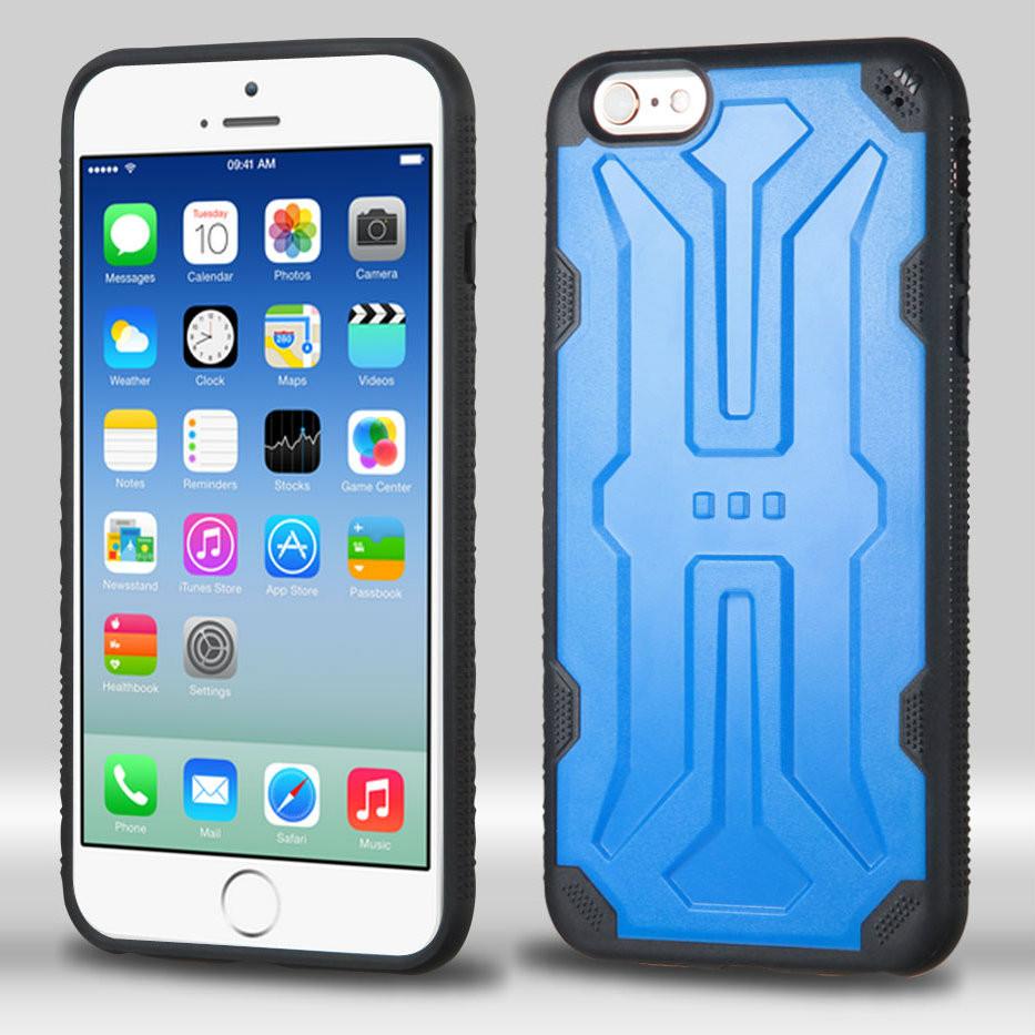 Defyr Hybrid Case For Iphone 6 6s Blue Hd Accessory