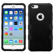 Military Grade Certified TUFF Hybrid Case for iPhone 6 / 6S - Black