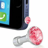 *SALE* Headphone Jack Dust Cap Pendant Jewelry - Red