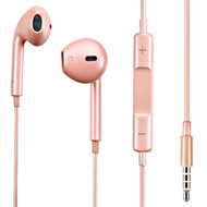 *Sale* Mybat Hi-Fi Dynamic Stereo Hands-free Headset with Mic - Rose Gold