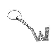 Glamorous Alphabet Keychain - Letter W