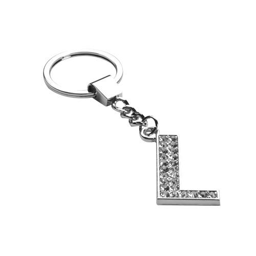 Glamorous Alphabet Keychain Letter L Hd Accessory