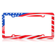 License Plate Frame - American Flag