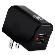 HyperGear Travel Dual USB 3.1A Charger - Black