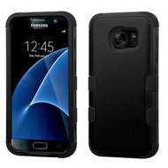 Military Grade Certified TUFF Hybrid Case for Samsung Galaxy S7 - Black