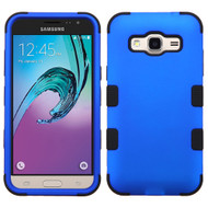 Military Grade Certified TUFF Hybrid Armor Case for Samsung Galaxy Amp Prime / Express Prime / J3 / Sol - Blue