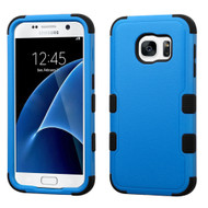 Military Grade Certified TUFF Hybrid Case for Samsung Galaxy S7 - Blue