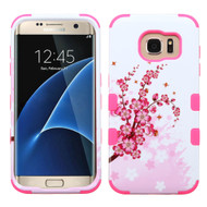 Military Grade TUFF Image Hybrid Case for Samsung Galaxy S7 Edge - Spring Flowers
