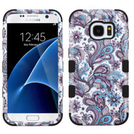 Military Grade Certified TUFF Image Hybrid Case for Samsung Galaxy S7 - Persian Paisley