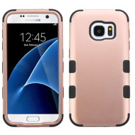 Military Grade Certified TUFF Hybrid Case for Samsung Galaxy S7 - Rose Gold
