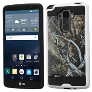 Brushed Graphic Hybrid Armor Case for LG G Stylo / Vista 2 - Tree