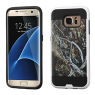 Brushed Graphic Hybrid Armor Case for Samsung Galaxy S7 Edge - Tree