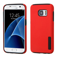 Pro Shield Hybrid Armor Case for Samsung Galaxy S7 - Red