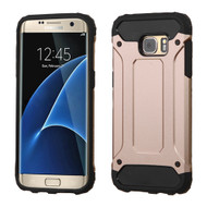Extreme Armor Hybrid Case for Samsung Galaxy S7 Edge - Rose Gold