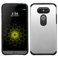 Hybrid Multi-Layer Armor Case for LG G5 - Silver
