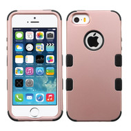Military Grade TUFF Hybrid Case for iPhone SE / 5S / 5 - Rose Gold