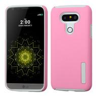 Pro Shield Hybrid Armor Case for LG G5 - Pink Grey