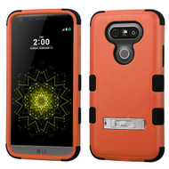Military Grade Certified TUFF Hybrid Armor Case with Stand for LG G5 - Orange