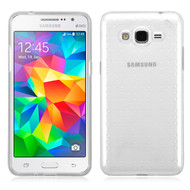 Perforated Transparent Cushion Gelli Case for Samsung Galaxy Grand Prime - Clear