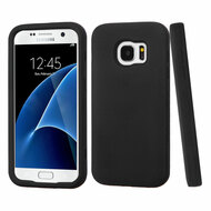 Verge Hybrid Armor Case for Samsung Galaxy S7 - Black