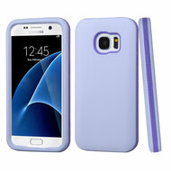 Verge Hybrid Armor Case for Samsung Galaxy S7 - Lavender Purple
