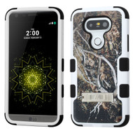 Military Grade Certified TUFF Image Hybrid Armor Case with Stand for LG G5 - Tree