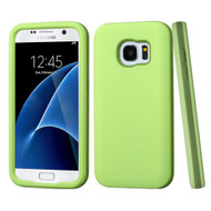 Verge Hybrid Armor Case for Samsung Galaxy S7 - Green Tea Olive
