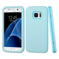 Verge Hybrid Armor Case for Samsung Galaxy S7 - Baby Blue