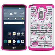 TotalDefense Diamond Hybrid Case for LG G Stylo / Vista 2 - Fresh Roses