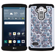 TotalDefense Diamond Hybrid Case for LG G Stylo / Vista 2 - Persian Paisley