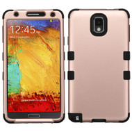 Military Grade Certified TUFF Hybrid Case for Samsung Galaxy Note 3 - Rose Gold