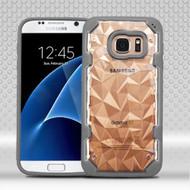 Challenger Polygon Hybrid Case for Samsung Galaxy S7 - Grey