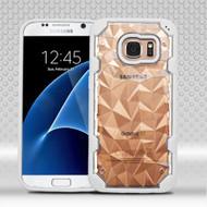 Challenger Polygon Hybrid Case for Samsung Galaxy S7 - White