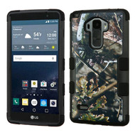 Military Grade Certified TUFF Image Hybrid Case for LG G Stylo / Vista 2 - English Oak Camouflage