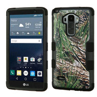 Military Grade Certified TUFF Image Hybrid Case for LG G Stylo / Vista 2 - Pine Tree Camouflage