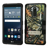 Military Grade Certified TUFF Image Hybrid Kickstand Case for LG G Stylo / Vista 2 - Oak Leaves Camouflage