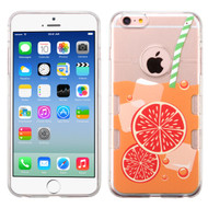 Co-Molded Impact Absorbing Case for iPhone 6 / 6S - Orange Soda