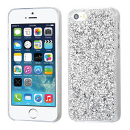 Desire Bling Bling Crystal Cover for iPhone SE / 5S / 5 - Rhinestones Silver