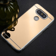 Premium Electroplated Candy Skin Cover for LG G5 - Gold