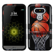 Military Grade Certified TUFF Image Hybrid Armor Case for LG G5 - Basketball Hoop