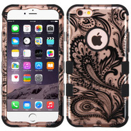 Military Grade Certified TUFF Image Hybrid Case for iPhone 6 Plus / 6S Plus - Phoenix Flower Rose Gold
