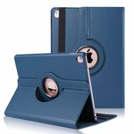 *SALE* 360 Degree Smart Rotary Leather Case for iPad Pro 9.7 inch - Navy Blue