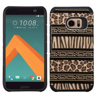 *Sale* Hybrid Multi-Layer Armor Case for HTC 10 - Leopard Zebra
