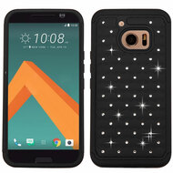 *Sale* TotalDefense Diamond Hybrid Case for HTC 10 - Black
